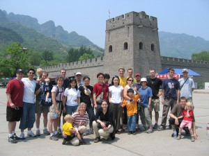 chinese activities great wall new century tianjin
